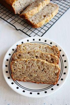 Eggless Banana Bread Recipe   Vegan Banana Bread