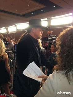 Trace on the red carpet