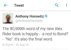EEEEK Book Tv, Book Series, Alex Rider Books, Artemis Fowl, I Gen, Stupid Stuff, I Love You All, Book Fandoms, James Bond