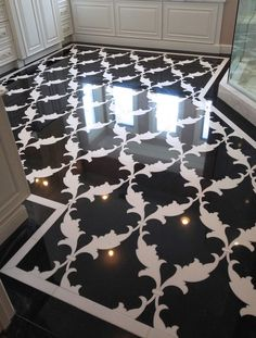 My Personal Client Design Projects. Featuring: A Custom Bath Mosaic Floor