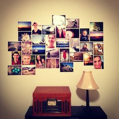 Nothing says home and love like a photo wall. Check out these 50 amazing photo gallery wall ideas and learn the best way to photos for your wall gallery. Picture Arrangements On Wall, Cool Wall Decor, Photo Memories, Inspiration Wall, Wall Collage, Collage Ideas, Photos, Pictures, Decoration