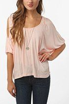 Daydreamer LA Cold Shoulder Oversized Tee from Urban Outfitters - on SALE for $29!!