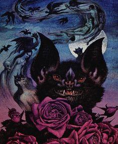 Arte Horror, Horror Art, Dark Fantasy Art, Dark Art, Vintage Horror, Pulp Art, Gothic Art, The Villain, Halloween Art