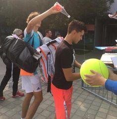 Sascha & Domi Atp Tennis, Tennis Pictures, Alexander Zverev, Tennis Accessories, Tennis Legends, Tennis World, The Prince Of Tennis, Tennis Quotes, Tennis Stars