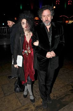 Helena Bonham Carter and Tim Burton Photos - Guests at Rothschild wedding - Zimbio