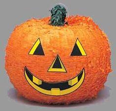 Alvast voor Halloween of gewoon een leuk griezelfeestje! Pompoen Pinata. Bestel snel op www.kinderfeest.nu! #pinata