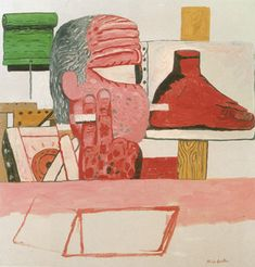 A Critical Study - Philip Guston. In the 1950s, Guston achieved success and renown as a 1st-generation Abstract Expressionist. He was increasingly frustrated with abstraction and began painting representationally again, but in a rather personal, cartoonish manner which were not initially well received.