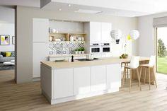 De keuken van Annaly enLaurent L. - Eggo Decoration Inspiration, Scandinavian Interior, Schmidt, Kitchen Decor, Kitchen Ideas, Building A House, Sweet Home, New Homes, Interior Design