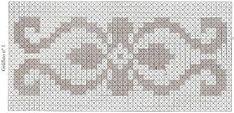 Resultado de imagem para graficos de tapetes retangulares em croche