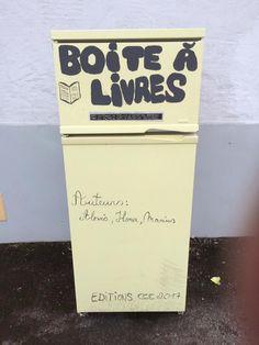 Boite à livres Bellefontaine