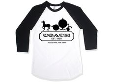 "The Cakeworthy x DisneyBound's ""Pumpkin Coach"" raglan is back again! Limited quantities available!  Click here to buy it!"