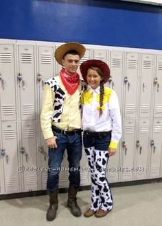 Coolest Jessie and Woody Couple Costume