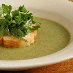 Pureed zucchini soup from Bethenny Frankel