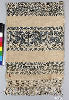 Piece     16th–17th century     Italian or German     Linen and cotton