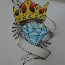 Resultado De Imagem Para Diamantes Com Coroas Desenhos
