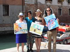 Family Art Classes in Venice Painting Courses, Art Courses, Venice Painting, Creative Workshop, Drawing Lessons, Children And Family, Venice Italy, Art School, Drawing Classes