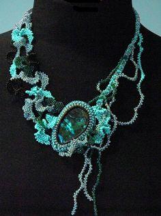 black & aqua/turquoise