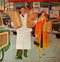 Sack Full Of Trouble-Dick Sargent (1911 – 1978, American)