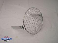 "7"" Chrome Headlamp stoneguard"