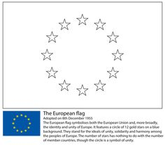 European Union Flag Coloring Page From Flags Category Select 27569 Printable Crafts Of