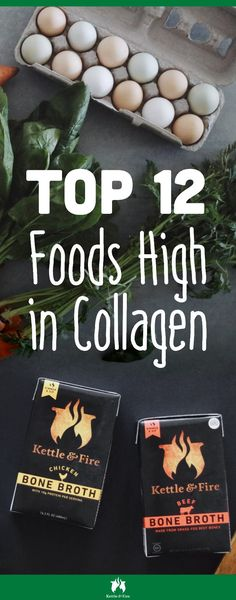 12 Collagen Rich Foods You Need to Add To Your Diet Today is part of Collagen recipes - Find out what these 12 collagen rich foods to help slow down the aging process and keep your skin looking smooth You may already have them in your kitchen Collagen Diet, Collagen Rich Foods, Bone Broth Benefits, Best Fat Burning Foods, Beef Bone Broth, Low Carb Diet, Best Diets, Health And Nutrition, Holistic Nutrition