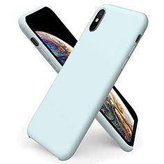 Coque pour iPhone 11 Pro Silicone Liquide avec Doux Microfibre Coussin Doublure Cover Housse Etui de Protection Anti Choc Gel Rose