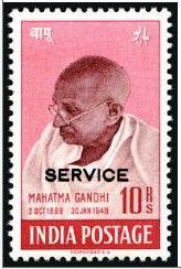 21st April 2012, Nilaish reports: PFC a Bristol based collectables company reported that this stamp (Gandhi 10 Rupees Service overprint) fetched US$ 205,000 at David Fieldman Auctions. This stamp features Mahatama Mohandas Karamchand Gandhi, the world known personality. Only few sheets were printed with 'Service' overprint for the use of the First Governor General of India. There are less than 50 examples known to exist. That is called a, 'High end collectable'.