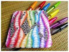 "Tangle; Mr E * Caviar 3.5"" x 3.5"" Bristol Smooth paper 270gr  Ball point pen Bic (Kulepenner Bic)"