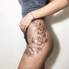 #tattoo #irainkers #flowertattoo #peony