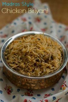 Chennai-Madras-spicy-chicken-dum-biryani