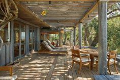 Grande terrasse couverte en bois : exactement mon rêve.
