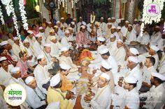 #Dagdusheth Ganpati celebrates Mogra Festival