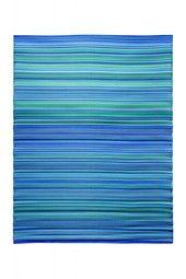 BLUE + GREEN MULTICOLOR RUG