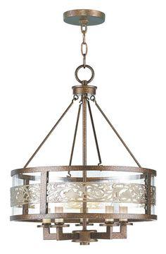 Livex Lighting 6257 Waverly 5 Light 1 Tier Chandelier Palacial Bronze Indoor Lighting Chandeliers