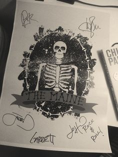 The Maine Signed Poster