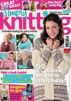 Simply Knitting 2011-01