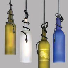 Wine bottle lights!!:)