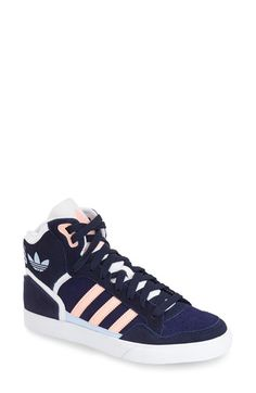 adidas 'Extaball' High Top Sneaker (Women) available at #Nordstrom