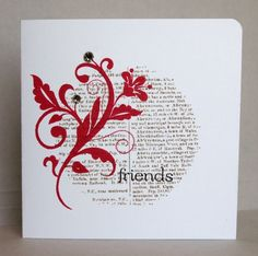 WT431 - Friends (SUO) by ReginaBD - Cards and Paper Crafts at Splitcoaststampers