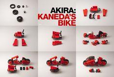 Akira – Kaneda's Bike _12 / Building Instructions | The whee… | Flickr