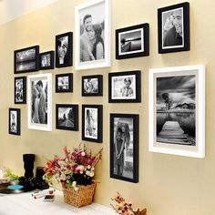 Hanging Picture Frames, Collage Picture Frames, Picture Frame Sets, Hanging Pictures, Collage Photo, Wall Pictures, Wall Collage, Wall Art, Wall Frame Set