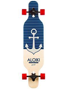 "Aloiki Longboards Nautic 9.5"" x 40"" Complete"