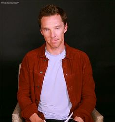 """""""Benedict doing an impression of Beyonce """""""