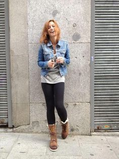 Spanish actress marta etura looks amazing in her wicked work boots