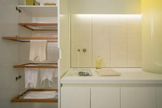 30E design | modern residential and commercial architecture - great laundry rack / cabinet
