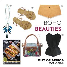 Get Shopping with OUT OF AFRICA: MARCH Issue OUT NOW! Beautiful clothing and fashion accessories for the free spirited. 1. TASSEL NECKLACE $20 this cute bohemian style feather necklace is right on trend. Available at Glamourize. 2. ATMOSPHERE STRAP SANDALS $12 enjoy comfort and style with these sandals - with unique strapping detail. Available at The Factory Store. 3. RIP CURL LUNAR SHORTS $29 rock it with a loose tee for a casual getup or opt for a crop top to truly enjoy the hot weather…
