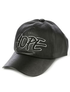 Hope Faux Leather Unisex Baseball Hat #Unbranded #BaseballCap