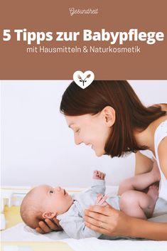 5 Tipps zur Babypflege mit Hausmitteln & Naturkosmetik | Koch mit Herz Baby Massage, Baby Baden, Personal Care, Eyes, Children, Beauty, Beauty Products, Cook, Healing