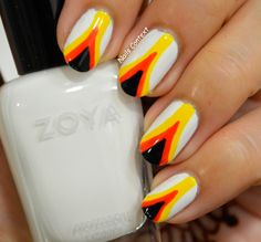 Fire 🔥 like nails for the weekend using @zoya nail polishes