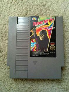 friday the 13th arcade game